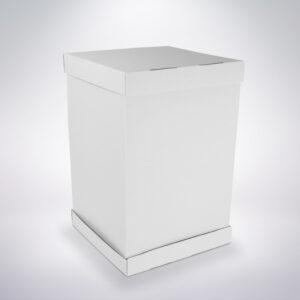 Krabica na tortu s vyšším zdobením 365x365x500